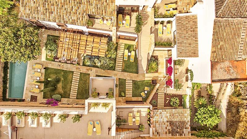 Sa Creu Nova Luxury Hotel Mallorca Vista Aérea